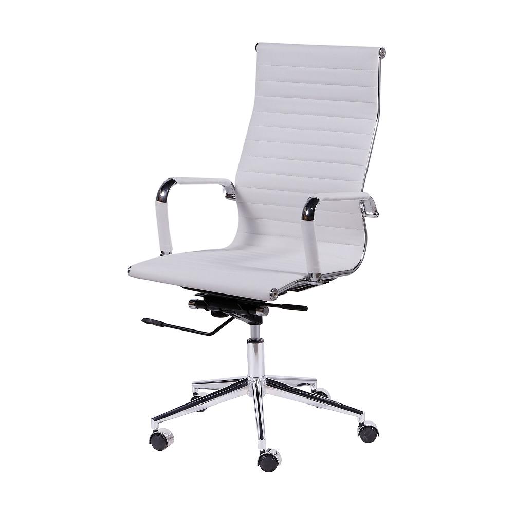 Cadeira De Escritório Esteirinha 3301 Alta Branca