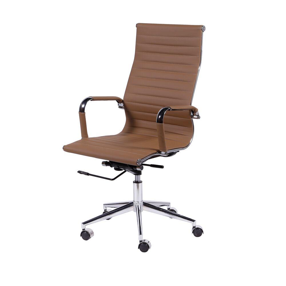 Cadeira De Escritório Esteirinha 3301 Alta Caramelo