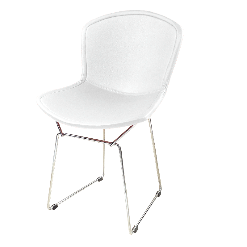Cadeira Bertóia Aramado Capa Total Branca