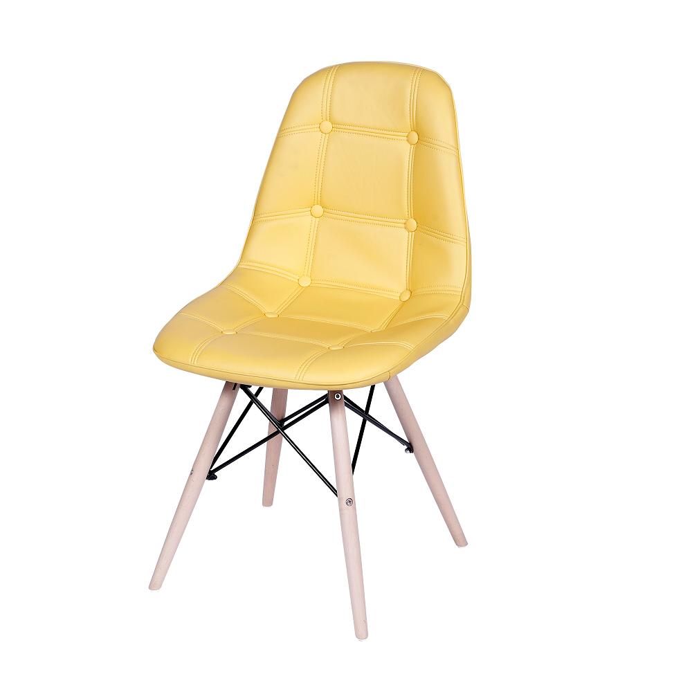 Cadeira Eames Eiffel Botonê Amarela