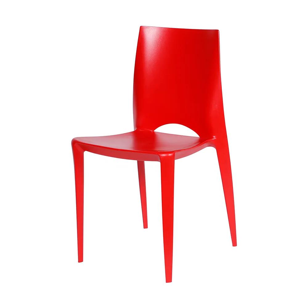Cadeira Daiane Polipropileno Vermelha