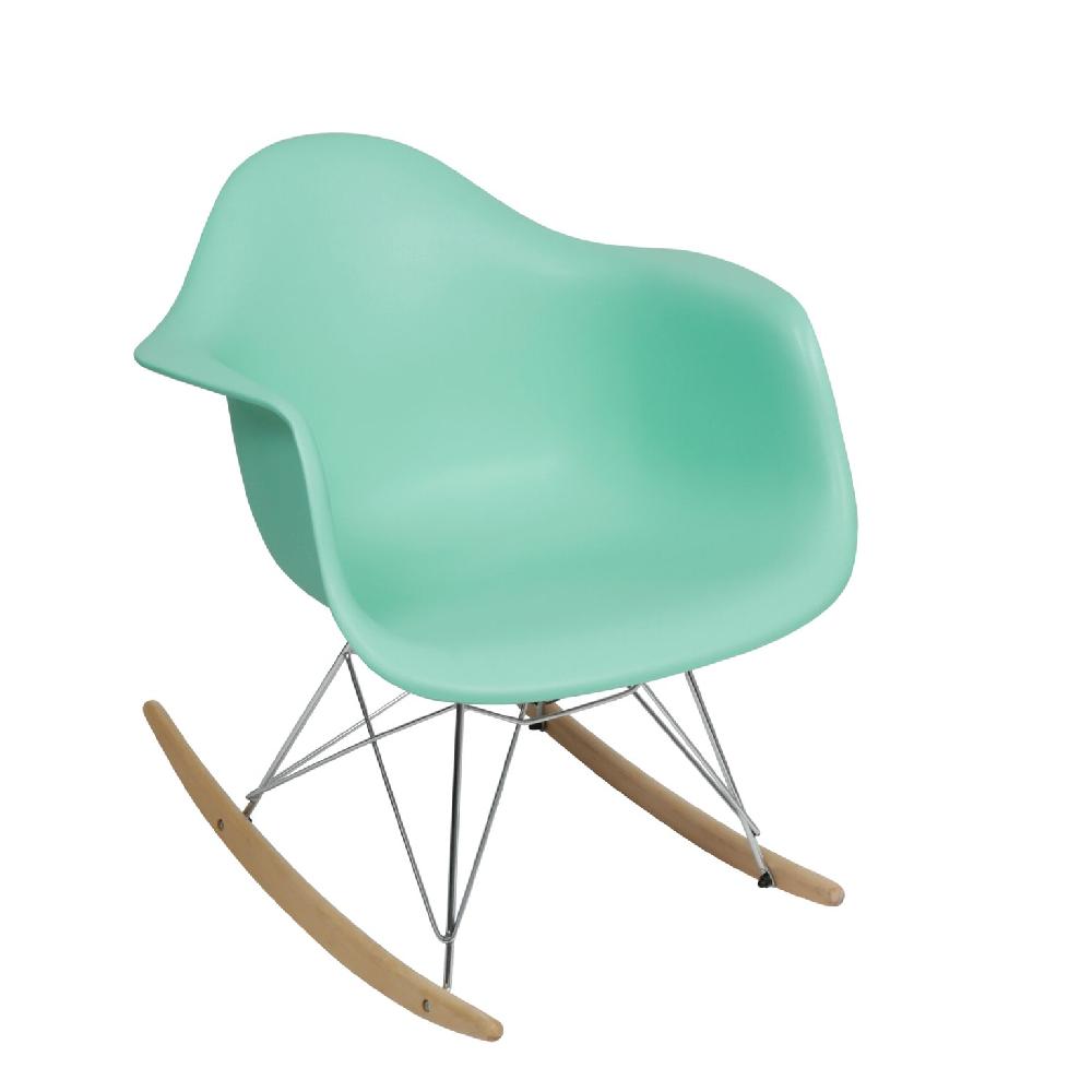 Cadeira Charles Eames Com Braço Tiffany Balanço