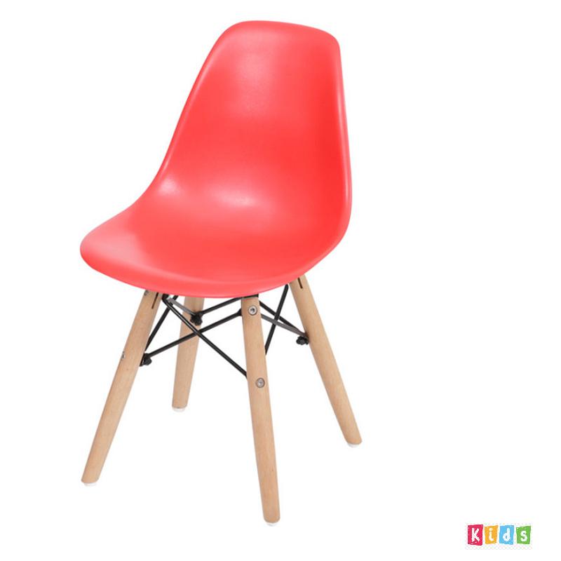 Cadeira Eiffel Polipropileno Vermelha Infantil