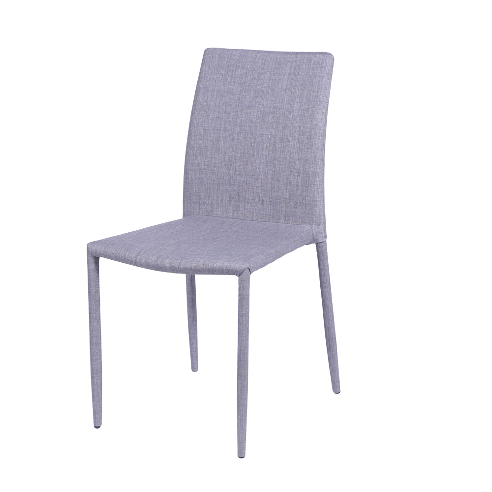 Cadeira Judy Tecido Cinza Claro