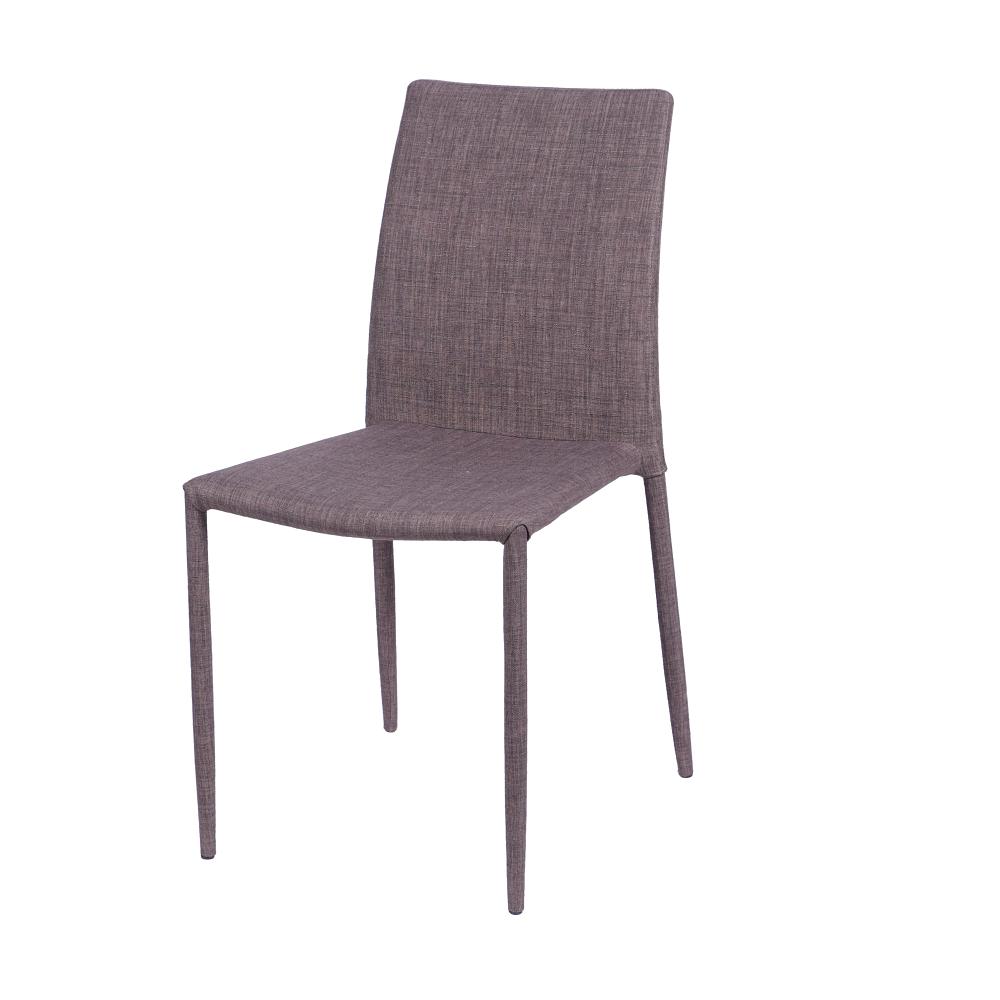 Cadeira Judy Tecido Marrom