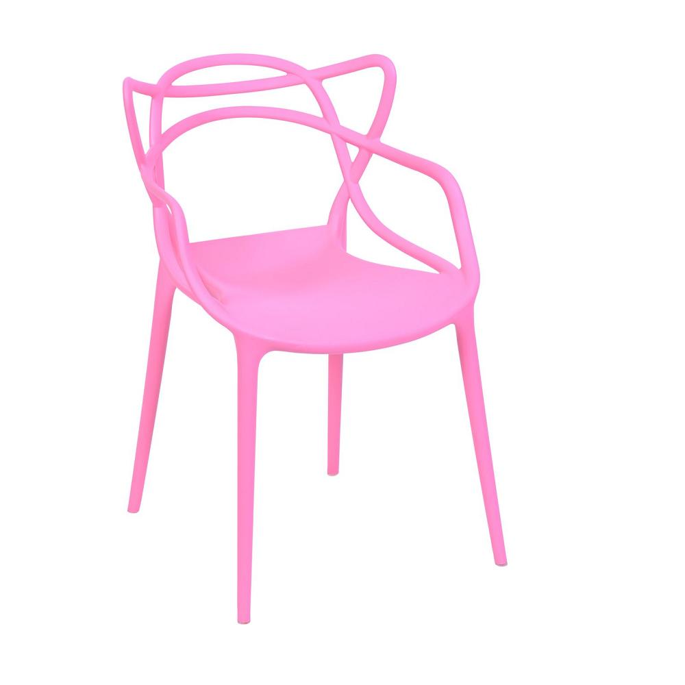Cadeira Masters Allegra Polipropileno Rosa