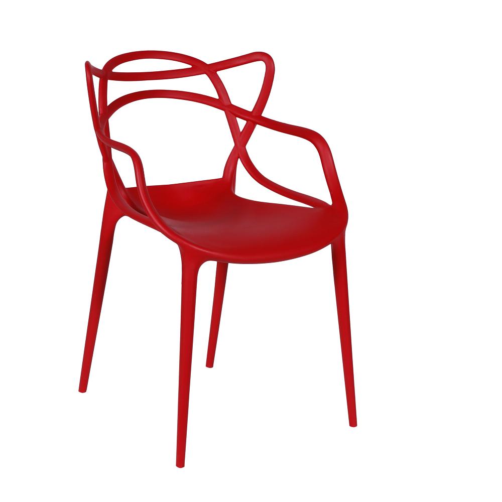 Cadeira Masters Allegra Polipropileno Vermelha