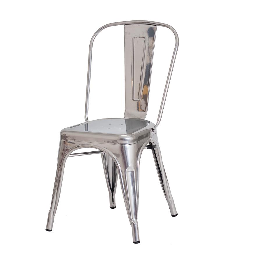 Cadeira Tolix Prata