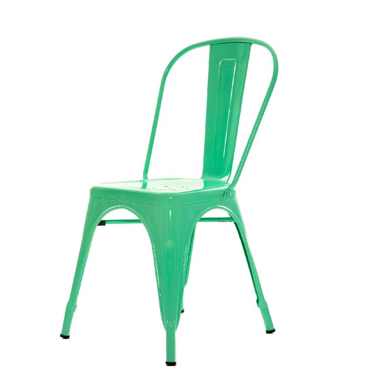Cadeira Tolix Verde Tiffany