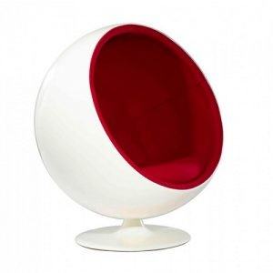 Poltrona Ball Chair Fibra de Vidro