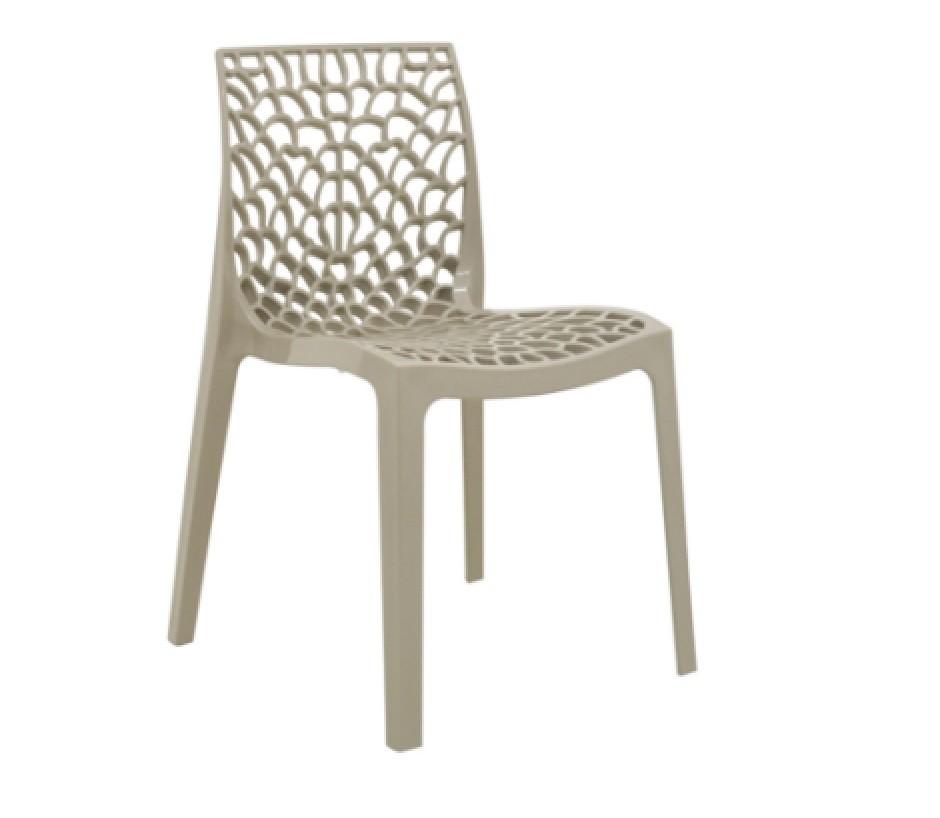 Cadeira Gruvyer Polipropileno Fendi