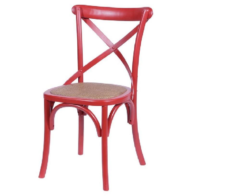 Cadeira Katrina Cross Vermelha