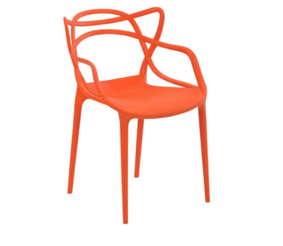 Cadeira Masters Allegra Polipropileno Laranja