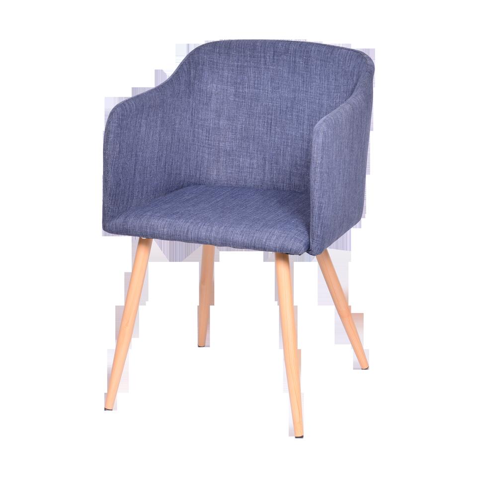 Cadeira Cloud Jeans Com Braço