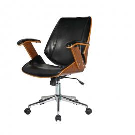 Cadeira Office Lisboa sem Encosto Preta