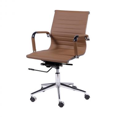 Cadeira De Escritório Esteirinha 3301 Baixa Caramelo