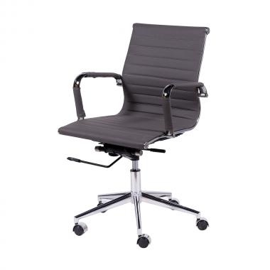 Cadeira De Escritório Esteirinha 3301 Baixa Cinza