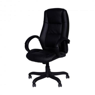 Cadeira De Escritório San Andres 3305 Estofada Preta
