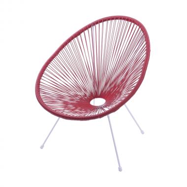 Cadeira Acapulco Vermelha