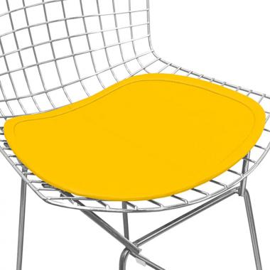 Assento para Cadeira Bertóia Amarelo