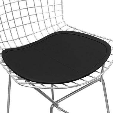 Assento para Cadeira Bertóia Preto