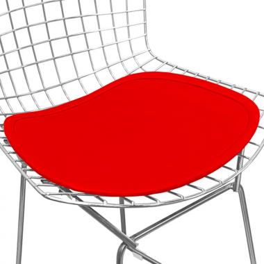 Assento para Cadeira Bertóia Vermelho