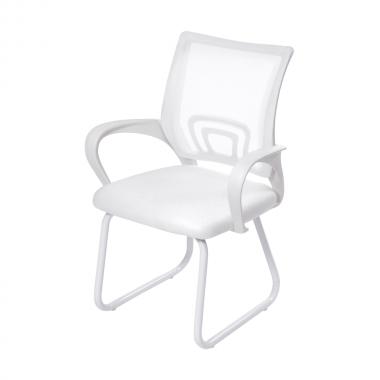 Cadeira De Escritório 3310 Branca Fixa