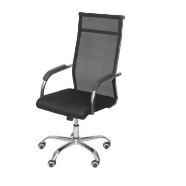 Cadeira De Escritório Office 3312 Alta Preta