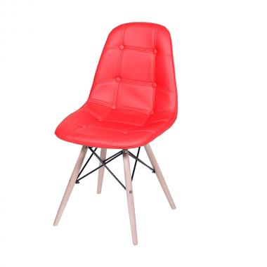 Cadeira Eames Eiffel Botonê Vermelha