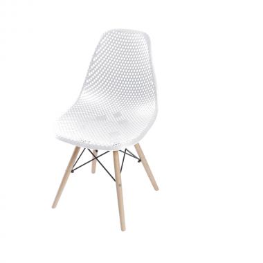 Cadeira Colméia Polipropileno Branca