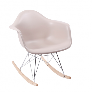 Cadeira Charles Eames Com Braço Fendi Balanço