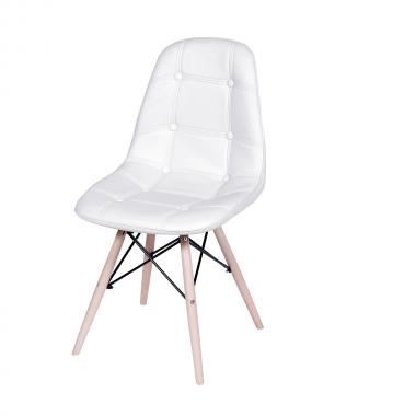 Cadeira Eames Eiffel Botonê Branca
