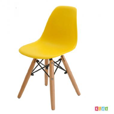 Cadeira Eiffel Polipropileno Amarela Infantil