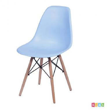Cadeira Eiffel Polipropileno Azul Infantil