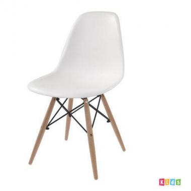 Cadeira Eiffel Polipropileno Branca Infantil