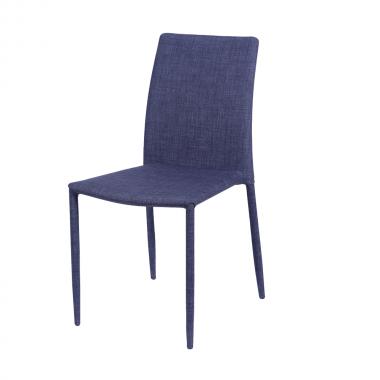 Cadeira Judy Tecido Jeans