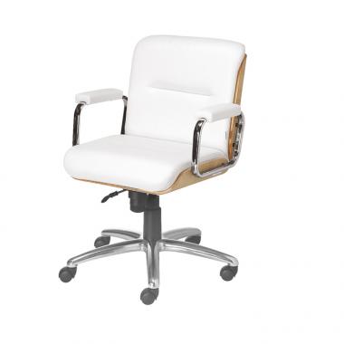 Cadeira Escritório Lavoro Baixa Branca
