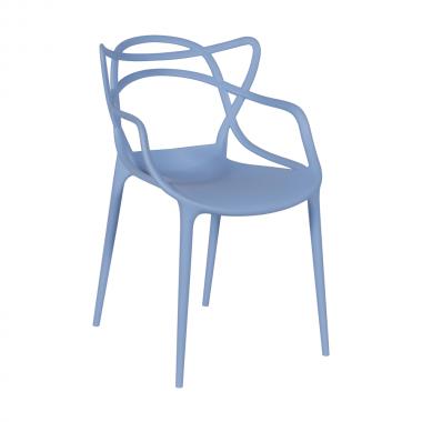 Cadeira Masters Allegra Polipropileno Azul