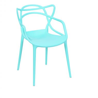 Cadeira Masters Allegra Polipropileno Tiffany