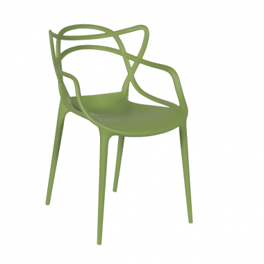 Cadeira Masters Allegra Polipropileno Verde