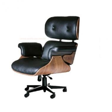 Cadeira De Escritório Charles Eames Office Em Couro