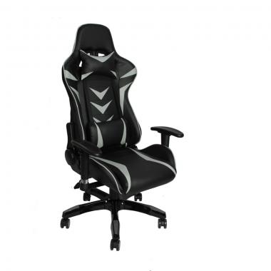 Cadeira De Escritório Office Pro Gamer Craft Preta e Cinza