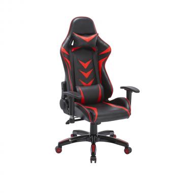 Cadeira De Escritório Office Pro Gamer Craft Preta e Vermelha