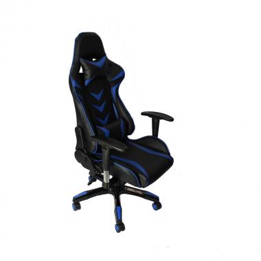 Cadeira De Escritório Office Pro Gamer Craft Preta e Azul