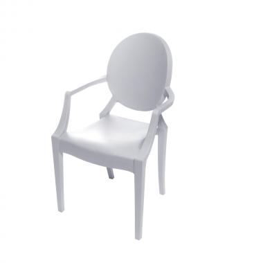 Cadeira Ghost Polipropileno Branca Infantil