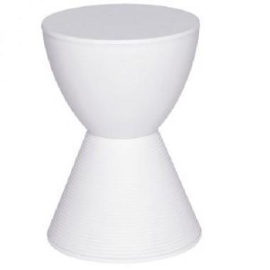 Banqueta Prince ABS Branco Philippe Starck