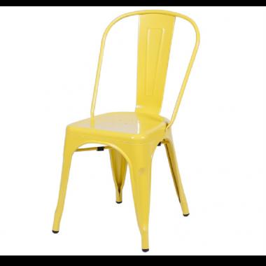 Cadeira Tolix Amarela