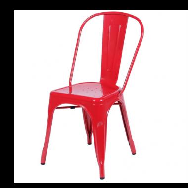 Cadeira Tolix Vermelha