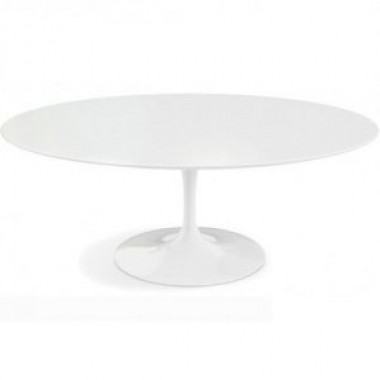 Mesa Saarinen Tulip Jantar Nano Glass Oval 1,98x1,22cm