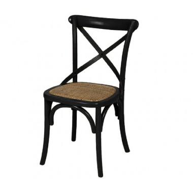 Cadeira Katrina Cross Preta